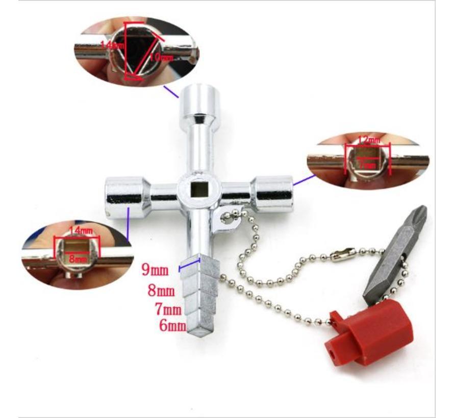 BonQ Universal Key - 6 in 1 - Multitool