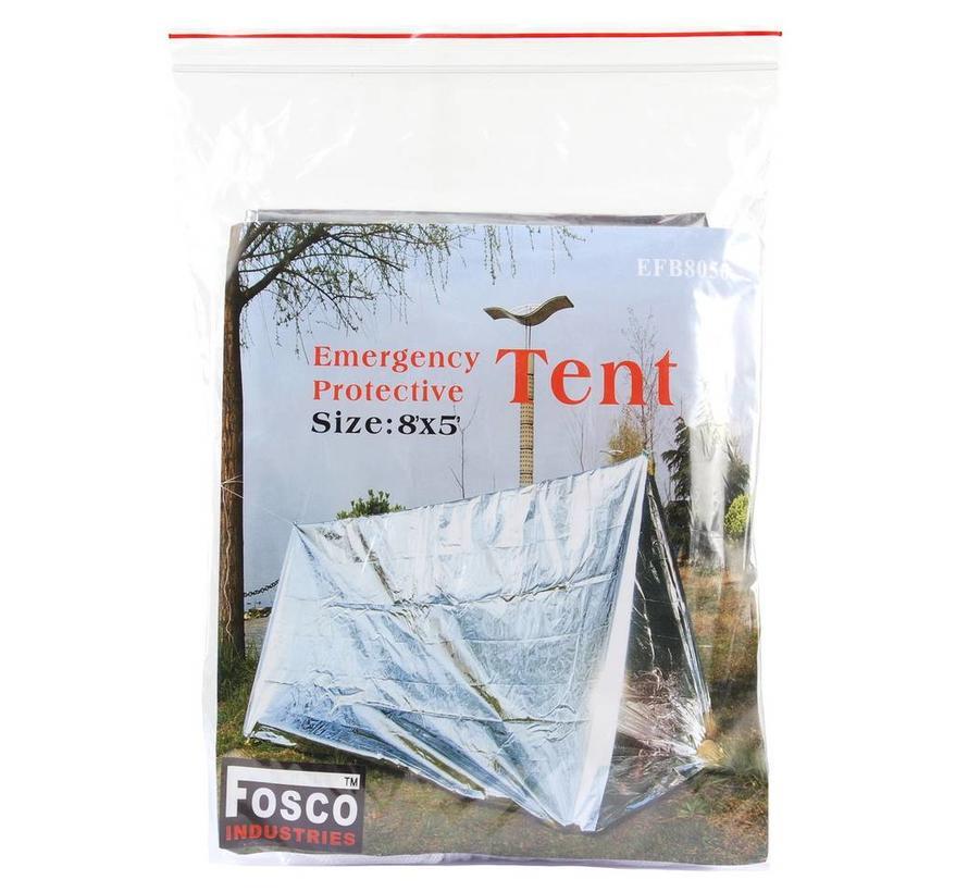 Fosco Emergency Tent - Zilver - 243x152cm