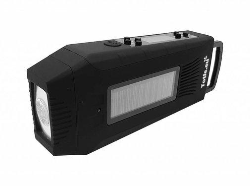 Totle Totle Noodradio Multi Survival - 2000mah + Batterij - SOS Functie - Opwindbaar
