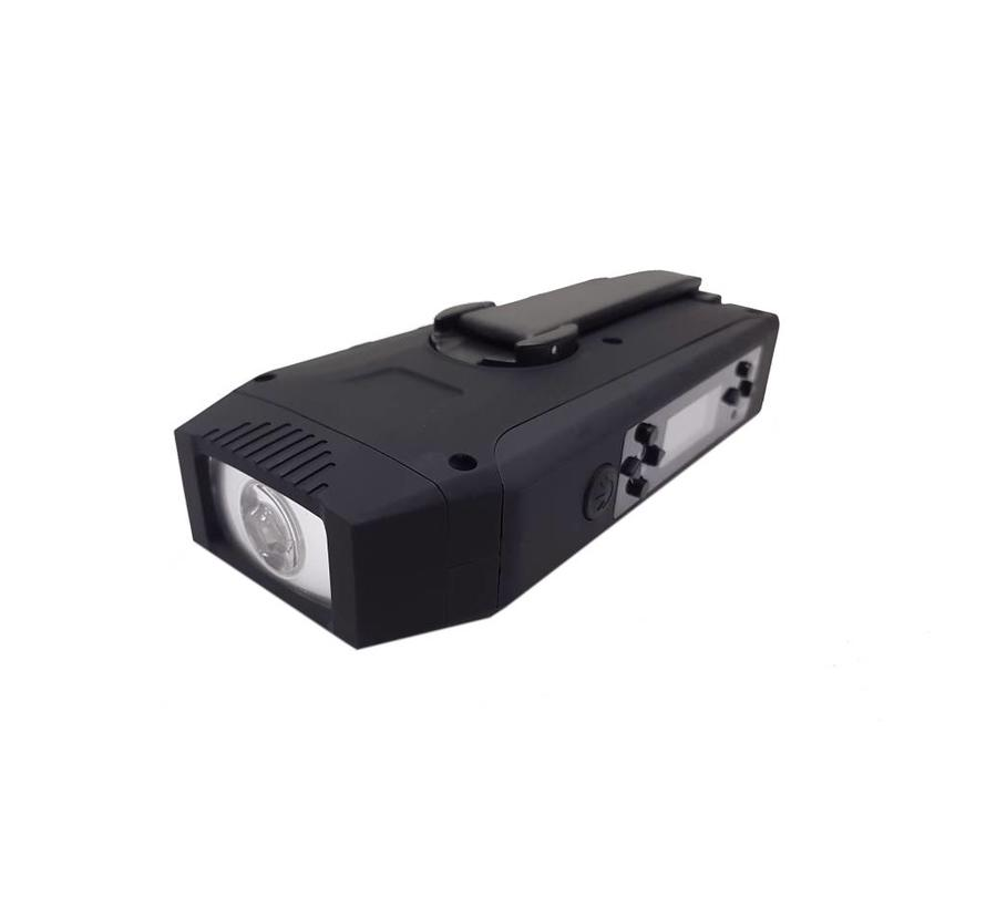 Totle Noodradio Multi Survival - 2000mah + Batterij - SOS Functie - Opwindbaar