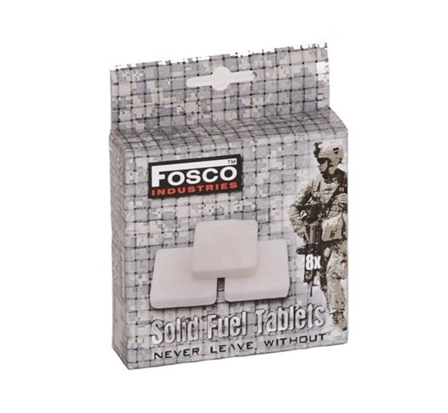 Fosco Fuel Tablets - Cooker - 8 Stuks