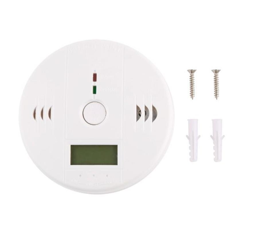 BonQ Carbon monoxide detector - White - Incl Confirmation