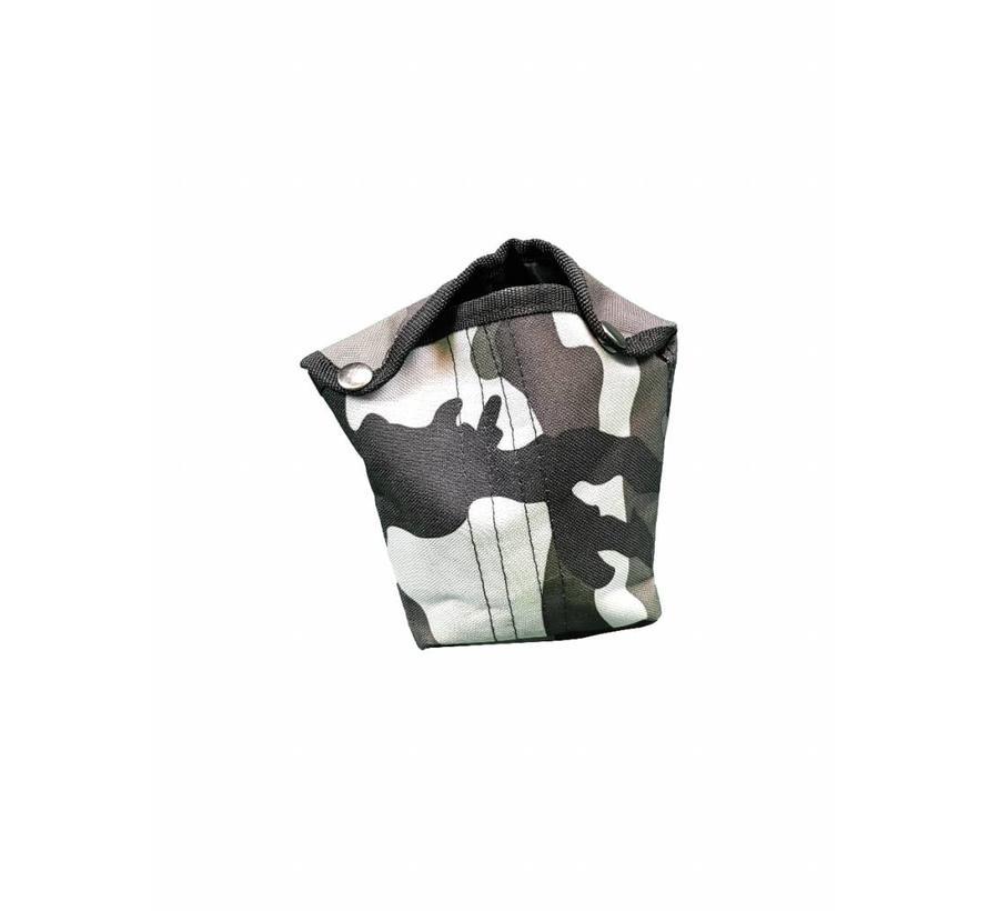 Fosco Veldfles Hoes - Urban Camouflage