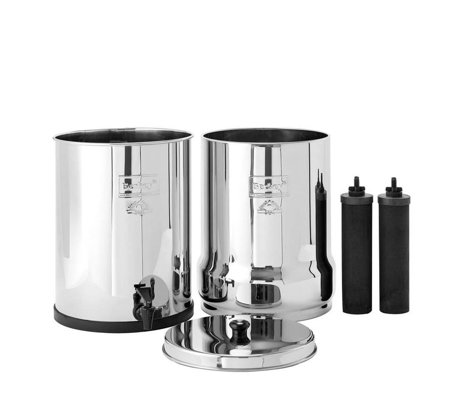 Berkey Imperial Water Filter - Up to 62.5 liters per hour