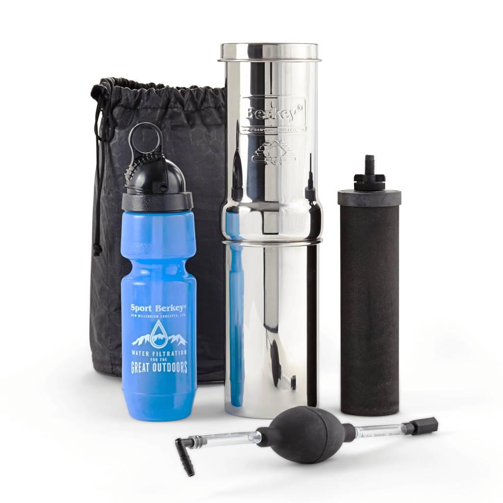 Berkey Waterfilters Berkey Go Kit Waterfilter Voor Op Reis 3,8 Liter per uur