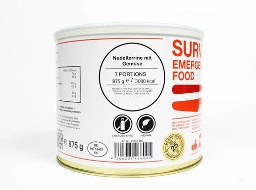 MSI Survivor Food - Noedels met groenten - 25 jaar houdbaar