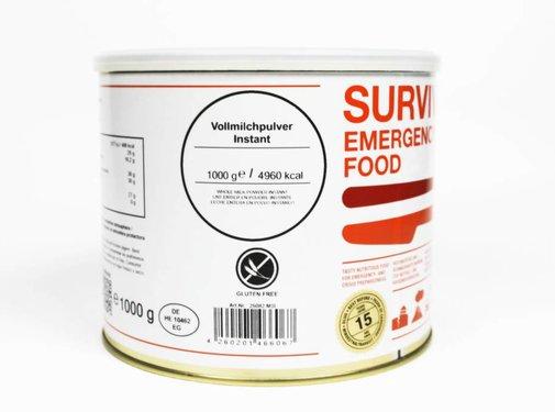 MSI Survivor Food - Volle melkpoeder  - 25 jaar houdbaar