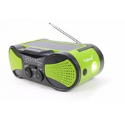 Totle Totle Emergency Radio - Superior - 4000mah + Battery - Solar Panel - Wind-up