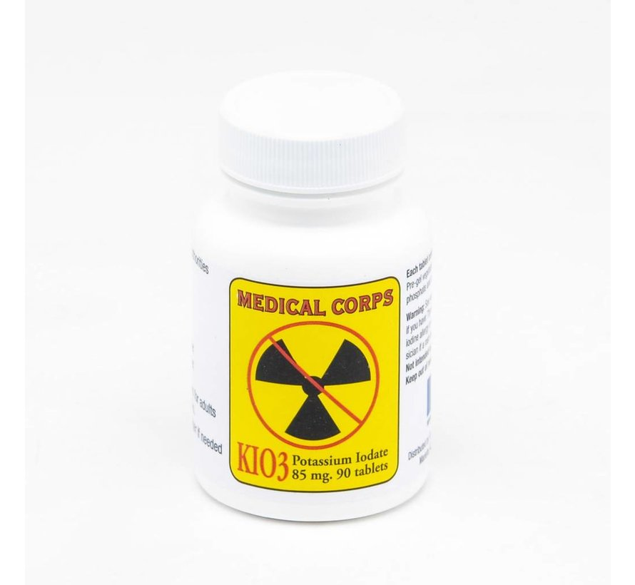 Berkey Kaliumjodide tabletten - 85 mg