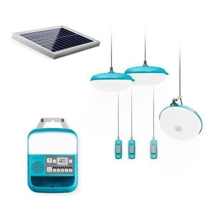 Lampen op zonne-energie