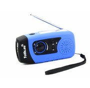 Totle Totle Emergency Radio Basic - 2000mah Powerbank - Solar Panel - Wind-up