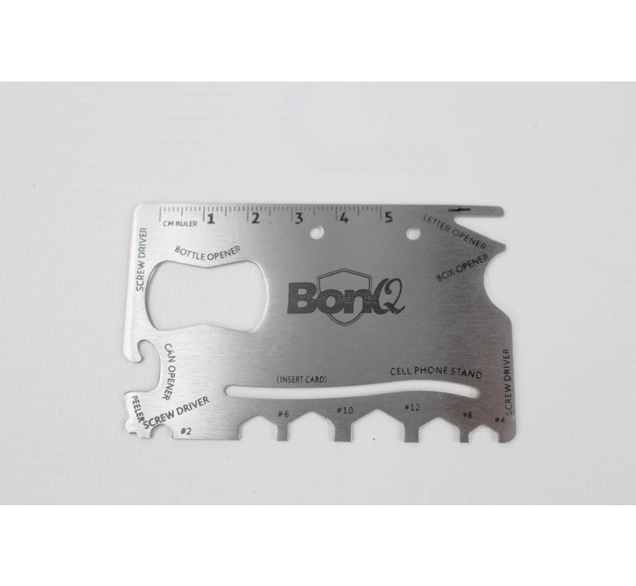 BonQ Portemonnee Multitool - 16 in 1