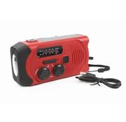 Totle Totle Noodradio Essential Plus - 2000 mAh - Zonnepaneel - Opwindbaar