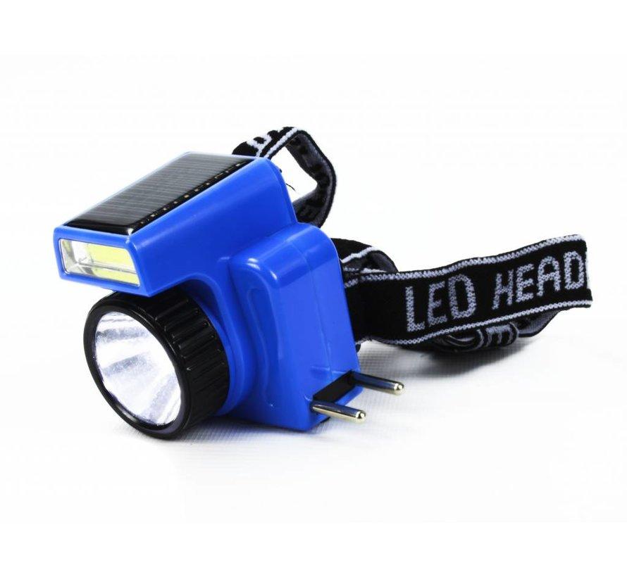 LED hoofdlamp - Zonnepaneel
