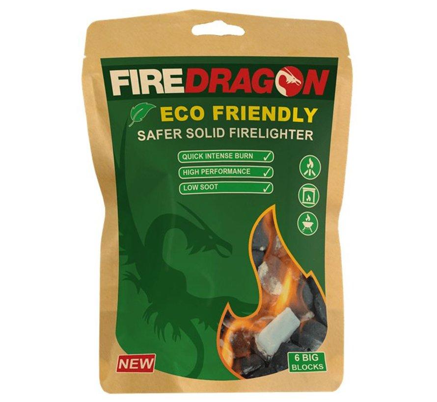 BCB - Firedragon - Solid fuel - 6 stuks - milieuvriendelijk