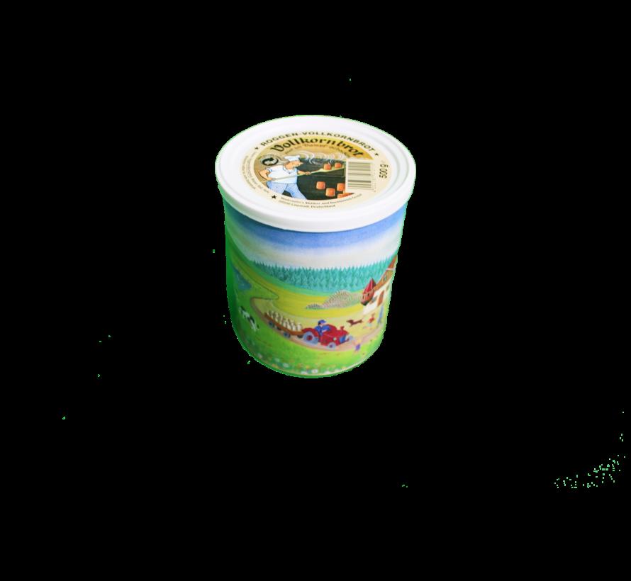 Trek'n eat Volkoren roggenbrood - in blik - 500 gram