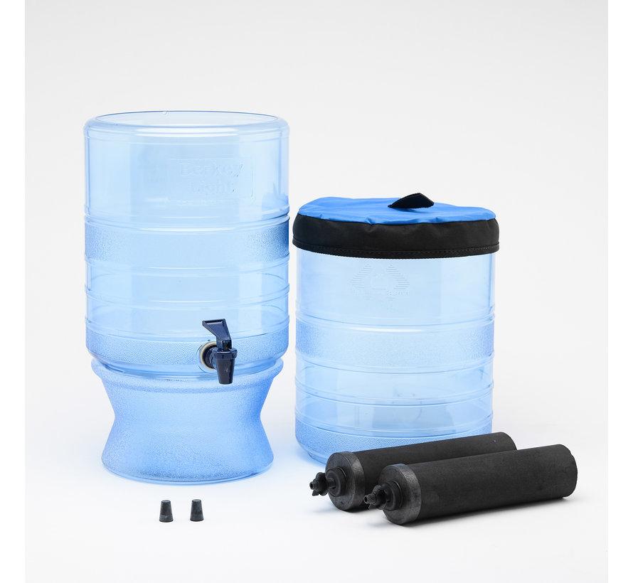 De Berkey Light waterfilter – tot wel 15.2 Liter per uur