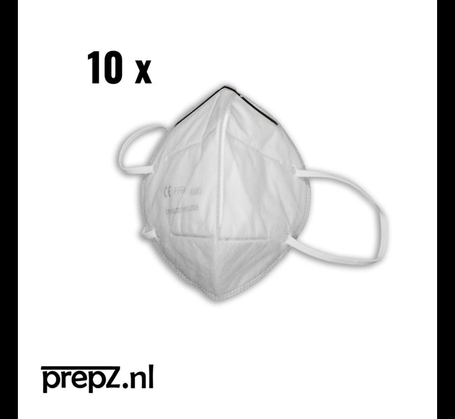 KN95 Type 3 - mondmasker - 10 stuks - tegen corona