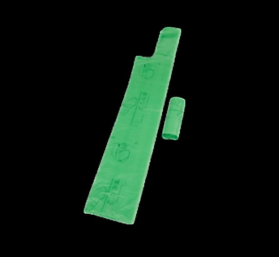 Biologisch afbreekbare droogtoilet zakken - 10 stuks
