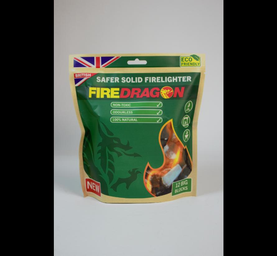 BCB - Firedragon - Solid fuel  - 12 stuks - milieuvriendelijk