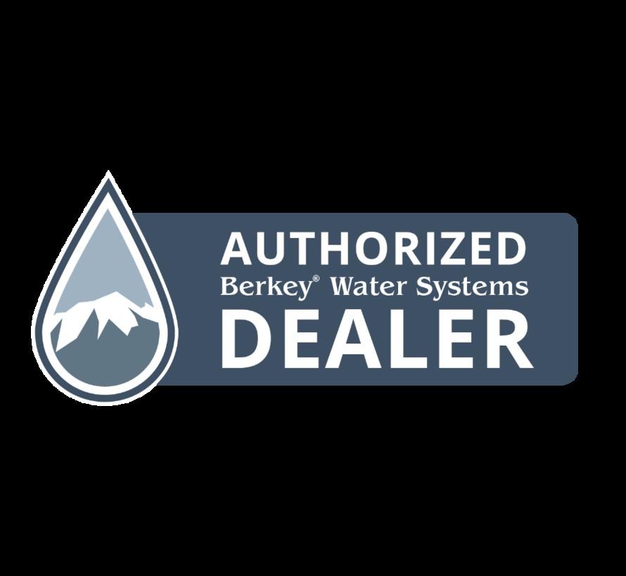 Berkey Travel Water Filter - On the go - 10.4 liters per hour