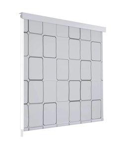 Rolgordijn voor douche 120x240 cm vierkant