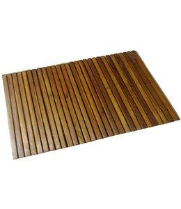 Badmat 80x50 cm acaciahout