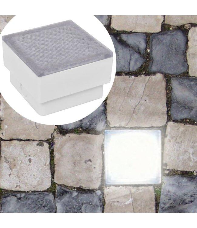 2x LED-lamp verzonken 100x100x68 mm