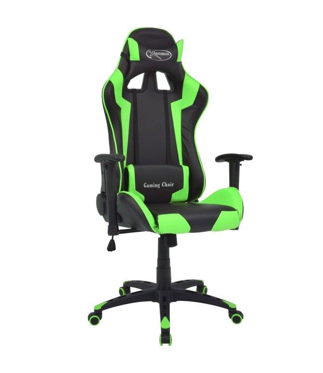 Bureau-/gamestoel verstelbaar Xtreme kunstleer groen