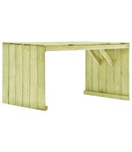Tuintafel 150x87x80 cm geïmpregneerd grenenhout