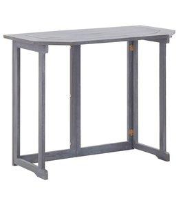 Balkontafel inklapbaar 90x50x74 cm massief acaciahout