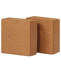 Kokosvezelblokken 2 st 5 kg 30x30x10 cm