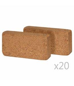 Kokosblokken 650 g 20x10x4 cm 40 st