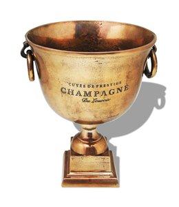 Prijzenbeker champagnekoeler koperbruin