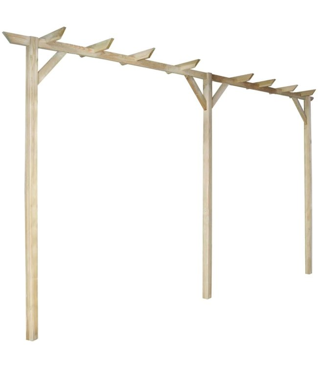 Pergola 400x40x205 cm hout