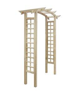 Rozenboog latwerk 150x50x220 cm hout