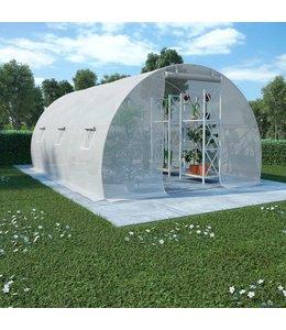 Kas met stalen fundering 13,5 m² 450x300x200 cm