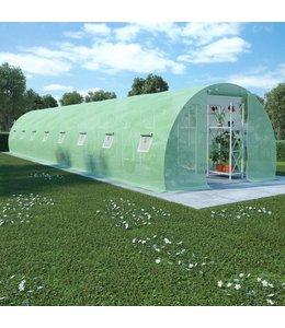 Kas met stalen fundering 36 m² 1200x300x200 cm