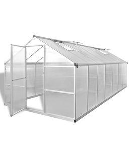 Broeikas versterkt aluminium 10,53 m²
