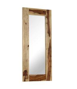 Spiegel 50x110 cm massief sheeshamhout