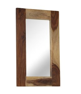 Spiegel 50x80 cm massief sheeshamhout