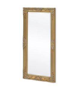 Wandspiegel Barok 100 x 50 cm goud