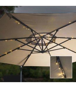 Parasol lichtslinger solar LED 130 cm