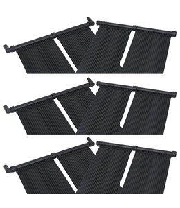 Solarverwarmingspanelen voor zwembad 6 st 80x310 cm