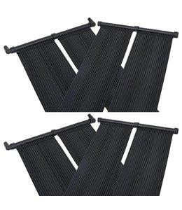 Solarverwarmingspanelen voor zwembad 4 st 80x310 cm