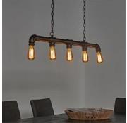 Industriële hanglamp Jade 5-lichts