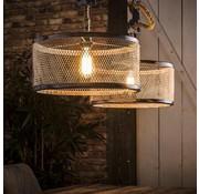 Industriële hanglamp Liam 2-lichts