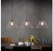 Industriële hanglamp Luke 3-lichts