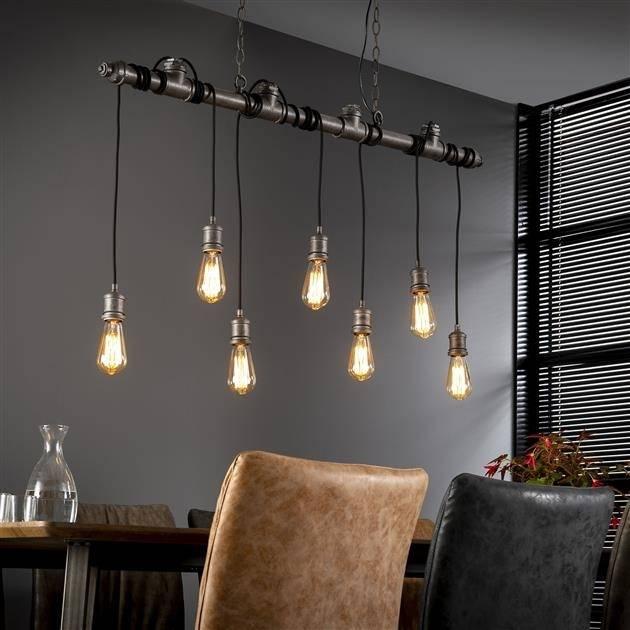 industriele buislamp hanglamp