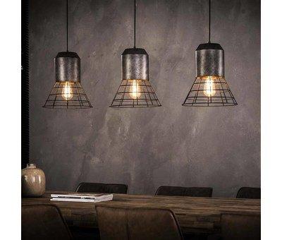 Industriële hanglamp River 3-lichts